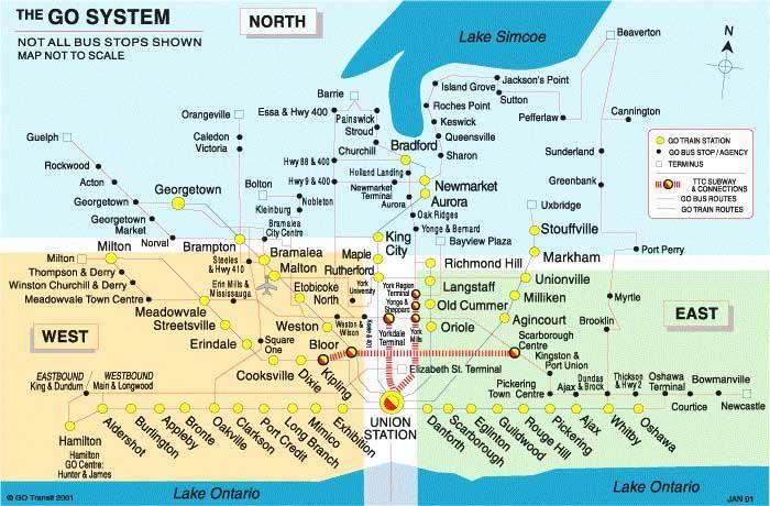 Regional Transit Maps and Brochures Transit Toronto Content