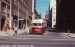Dundas Car at City Hall Loop, August 1971