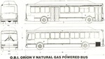Orion V Schematic, seen here as the CNG model