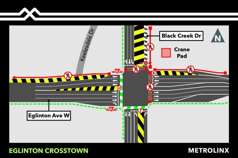 2018 - 10-19 - West portal - Black Creek northbound closure.jpg