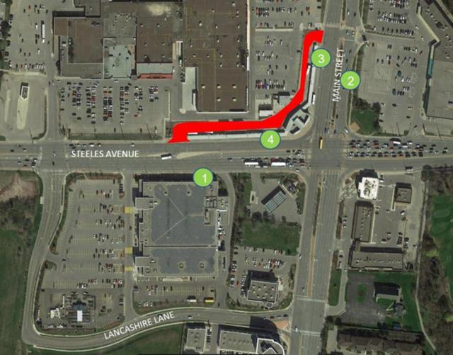 Brampton Gateway Terminal Detour and Temporary Bus Stops August 19.JPG
