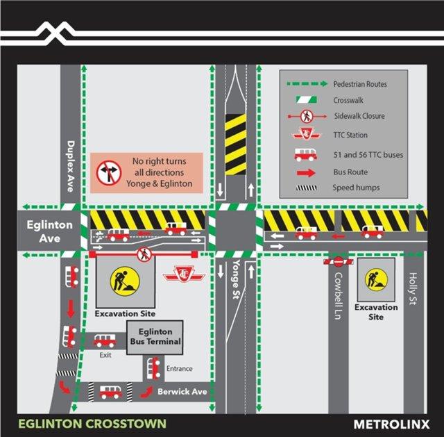 2020 - 03-29 - TTC bus changes at Eglinton Station due to Eglinton West Station closure.jpg