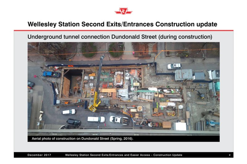 Wellesley_Second exit tunnel construction.jpg