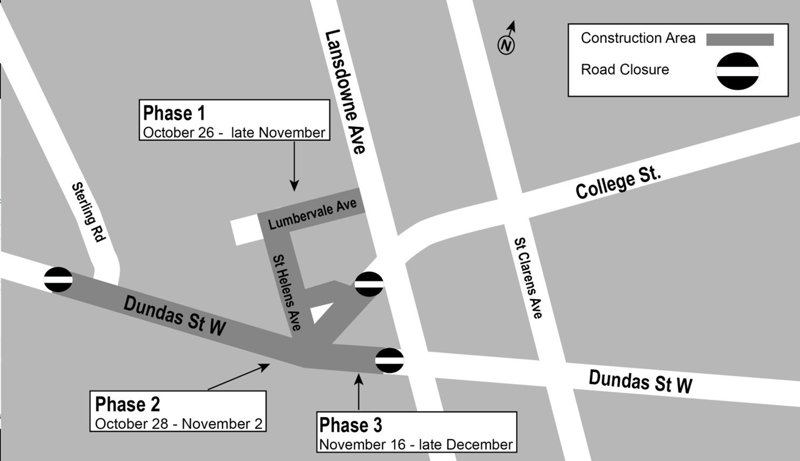 Dundas West - Sterling - College construction map.jpg