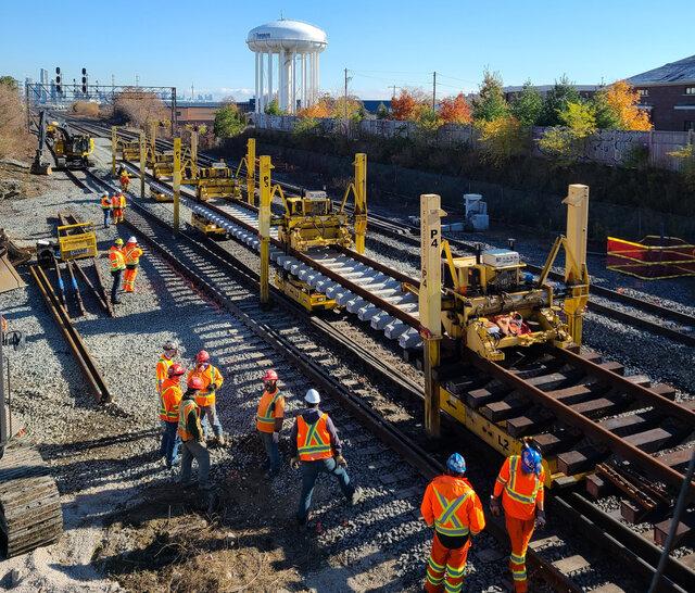 Canpa subivision - Lakeshore West track work.jpg