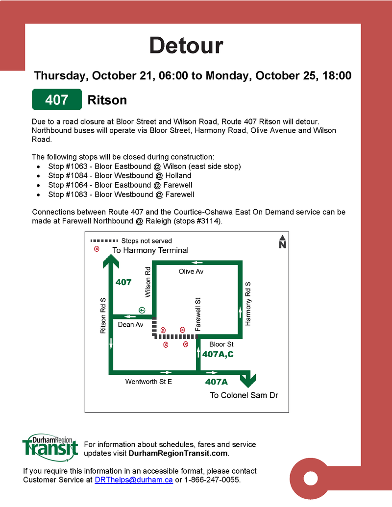 2021-10-21 Bloor-Wilson intersection closure 407 via Olive.png