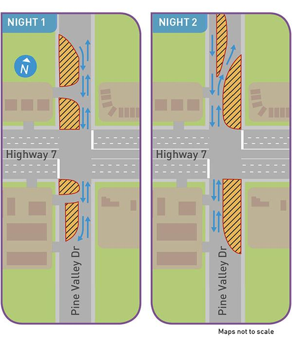 Highway 7 West rapidway - Woodbridge: Storm sewers and ...