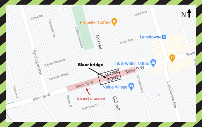 2020 - 11-28-29 - Bloor West closure.png