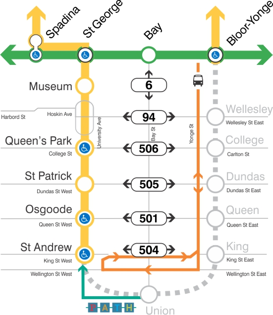 Buses Replace Subway Bloor To St Andrew This Weekend