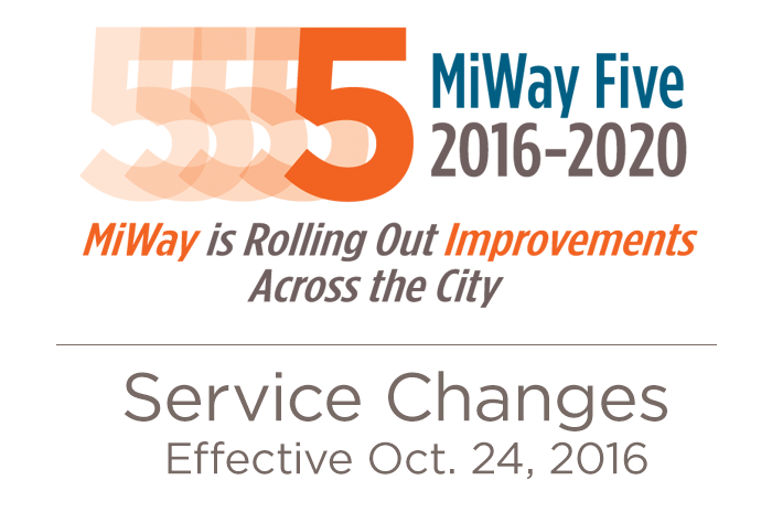 Miway Revises Routes And Services October 24 Transit