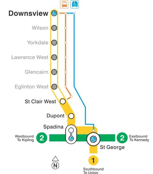 No Subway Service May 28 And 29 Downsview To St Clair