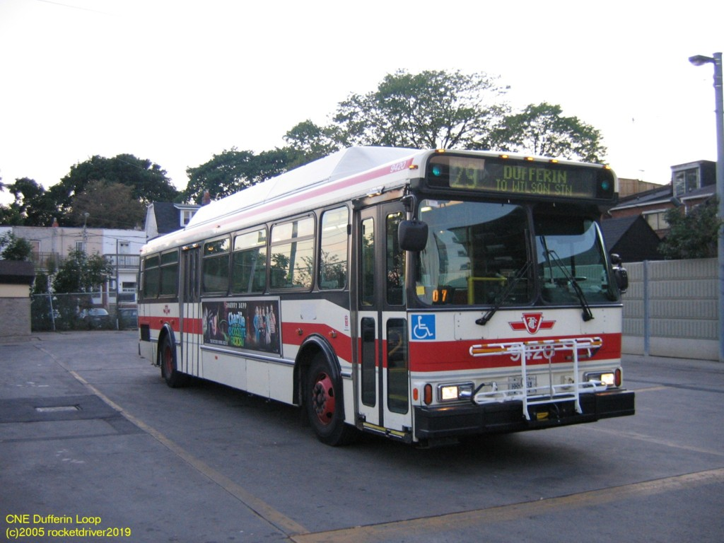 29 Dufferin Transit Toronto Surface Route Histories