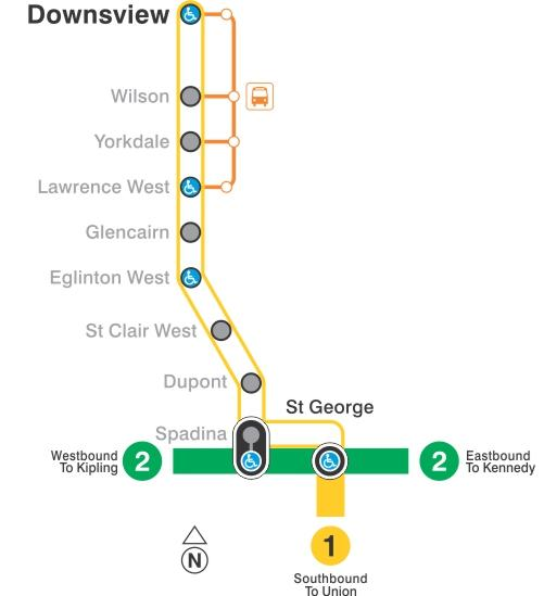 No Subway Service February 25 And 26 Downsview To St