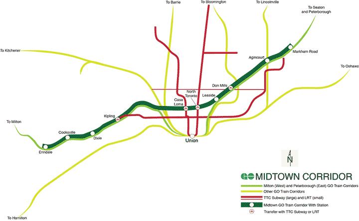 GO Transits Future Midtown Line Transit Toronto Content