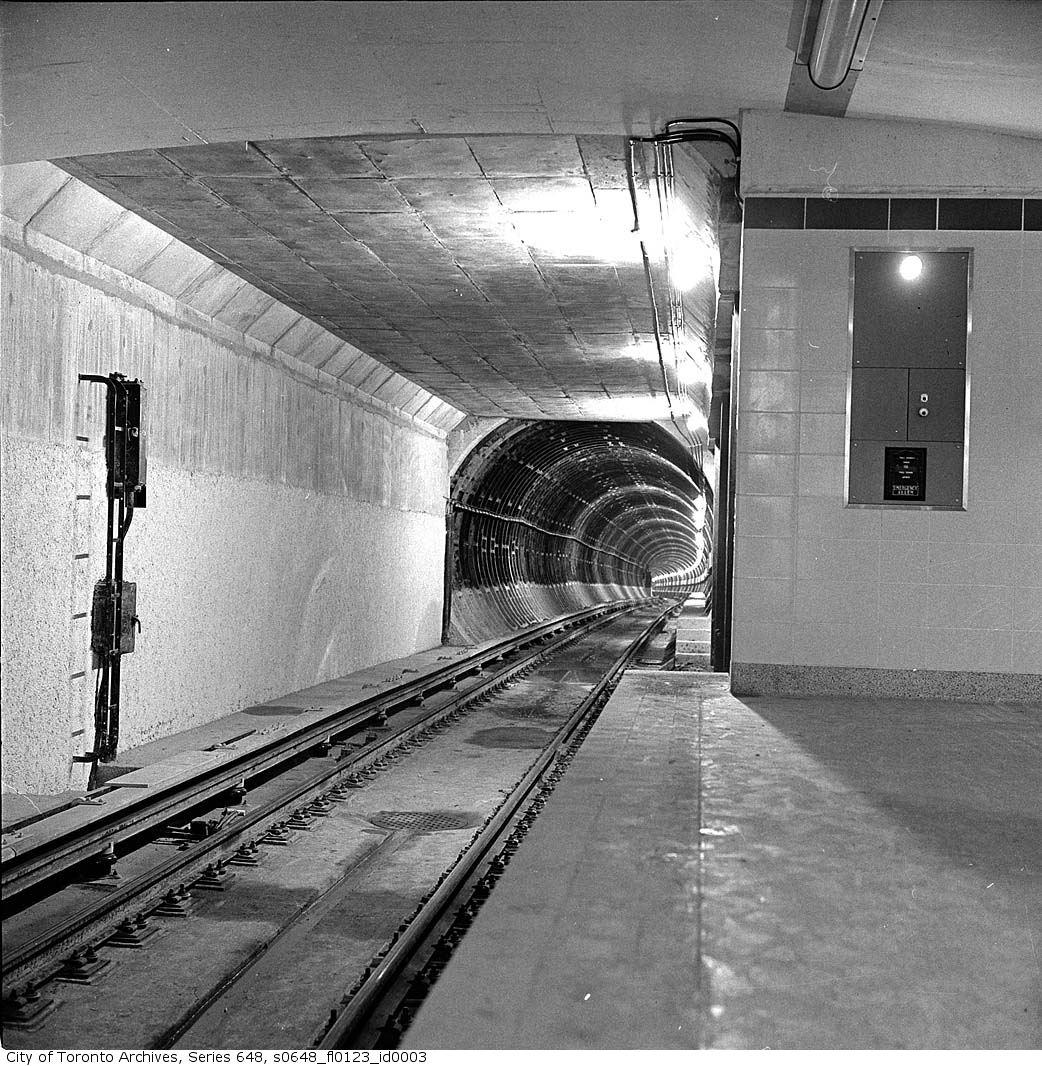The University Subway Transit Toronto Content
