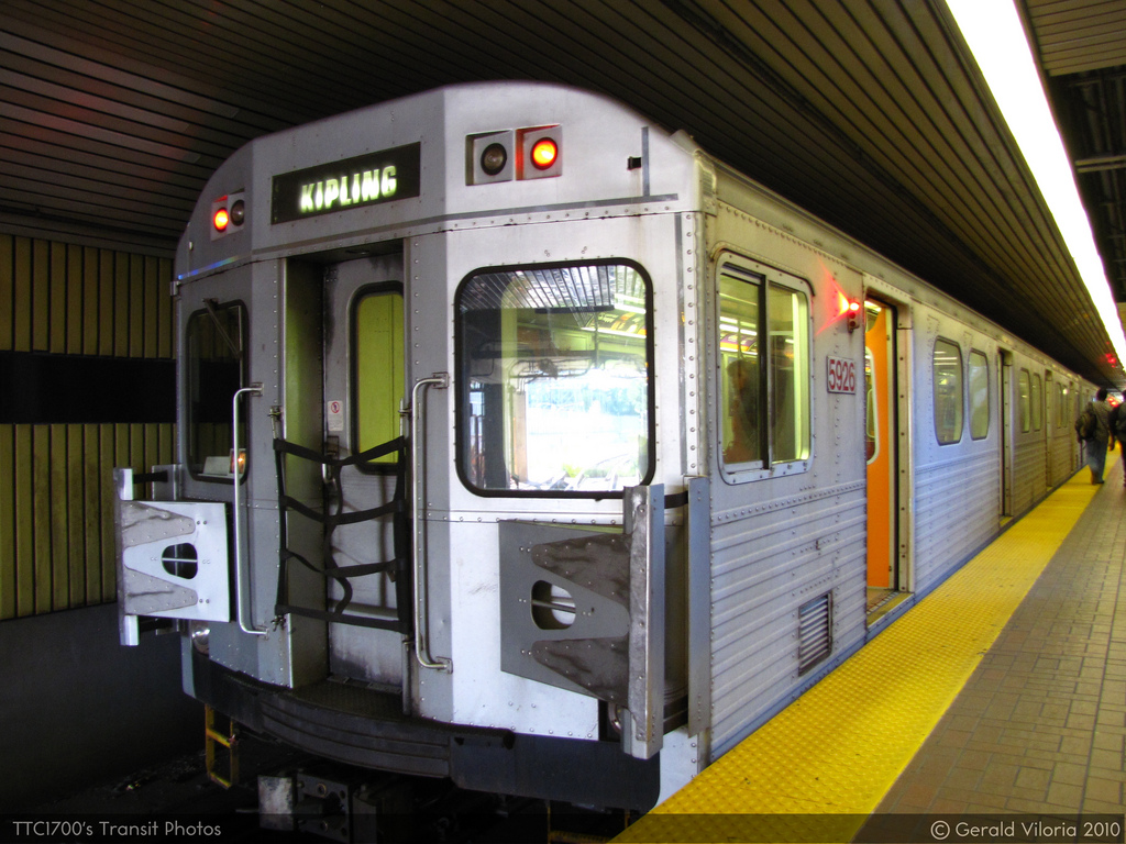 Buses Replace Subway Between Kipling And Keele This