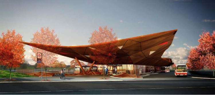 See The Design For The Future Steeles West Station March