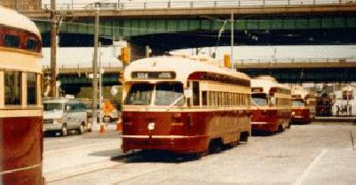 PCC streetcar sails through Harbourfront this summer, <br ...