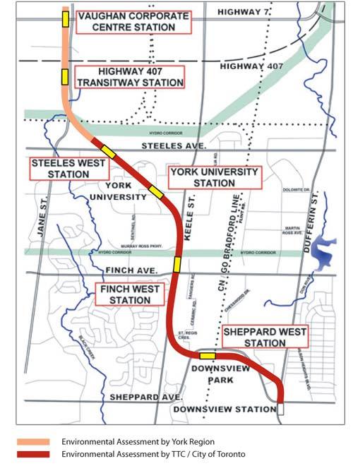 York University Vaughan Subway Likely Confirmed Transit