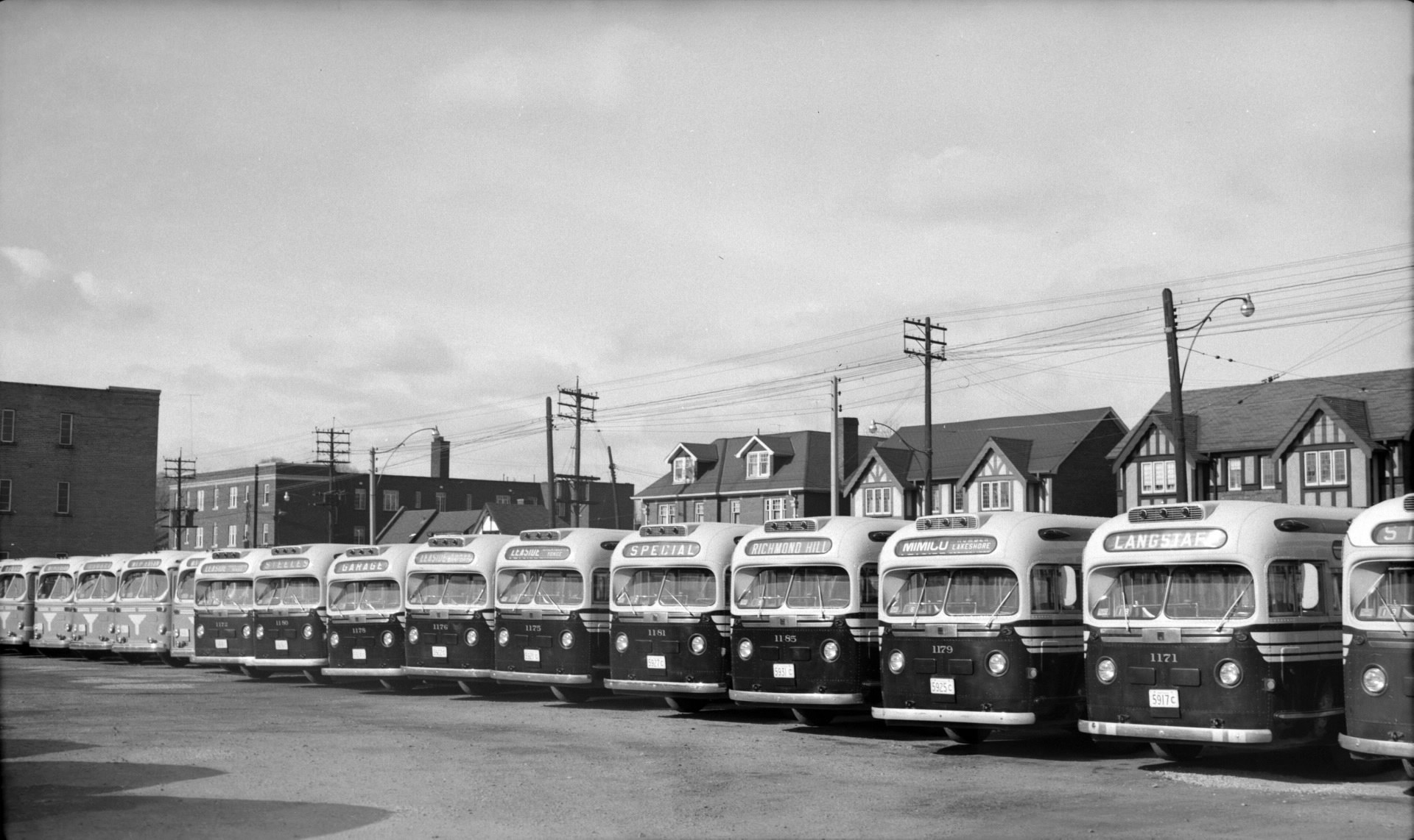 Eglinton Carhouse And Garage Transit Toronto Content