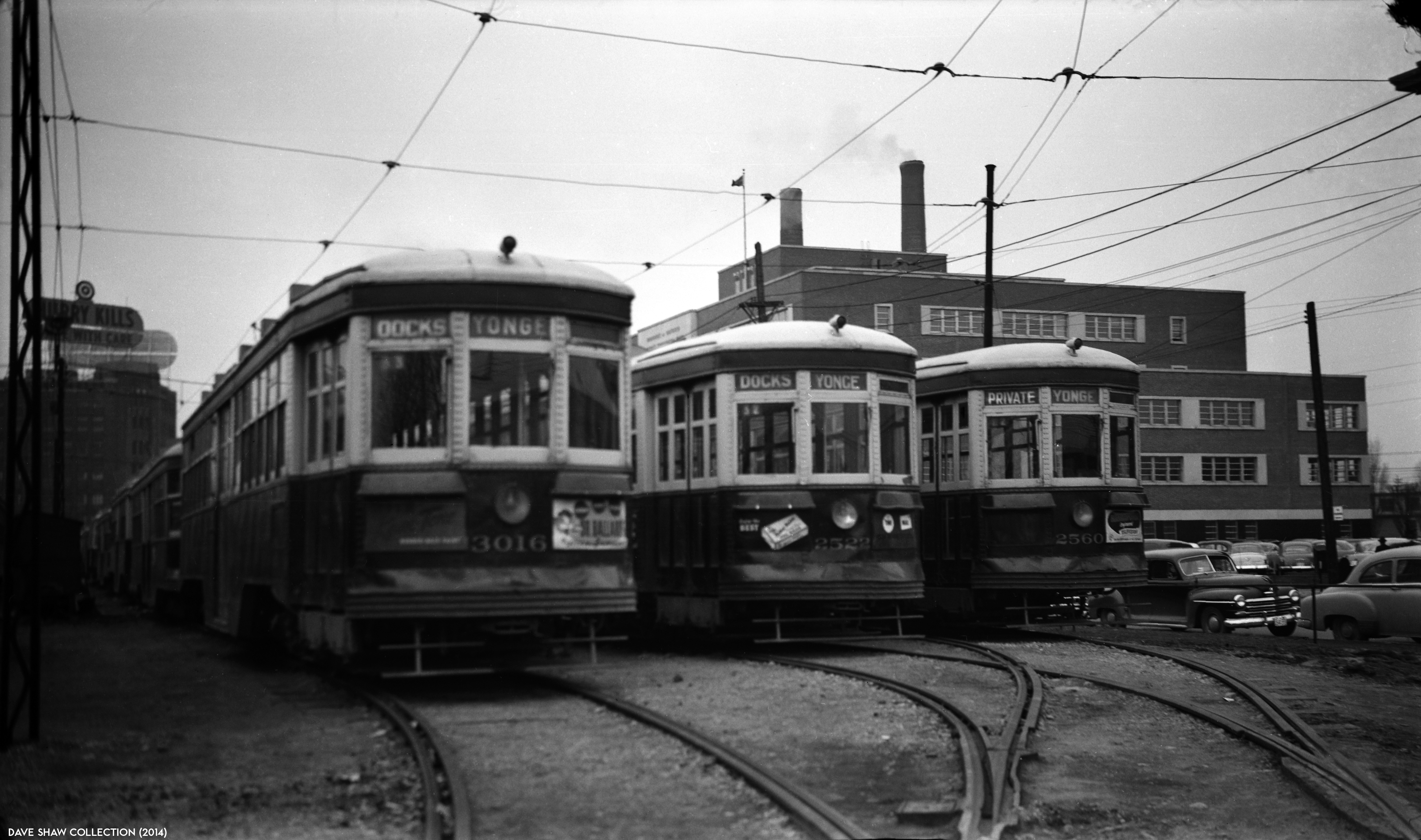 Waterfront Streetcars 1953