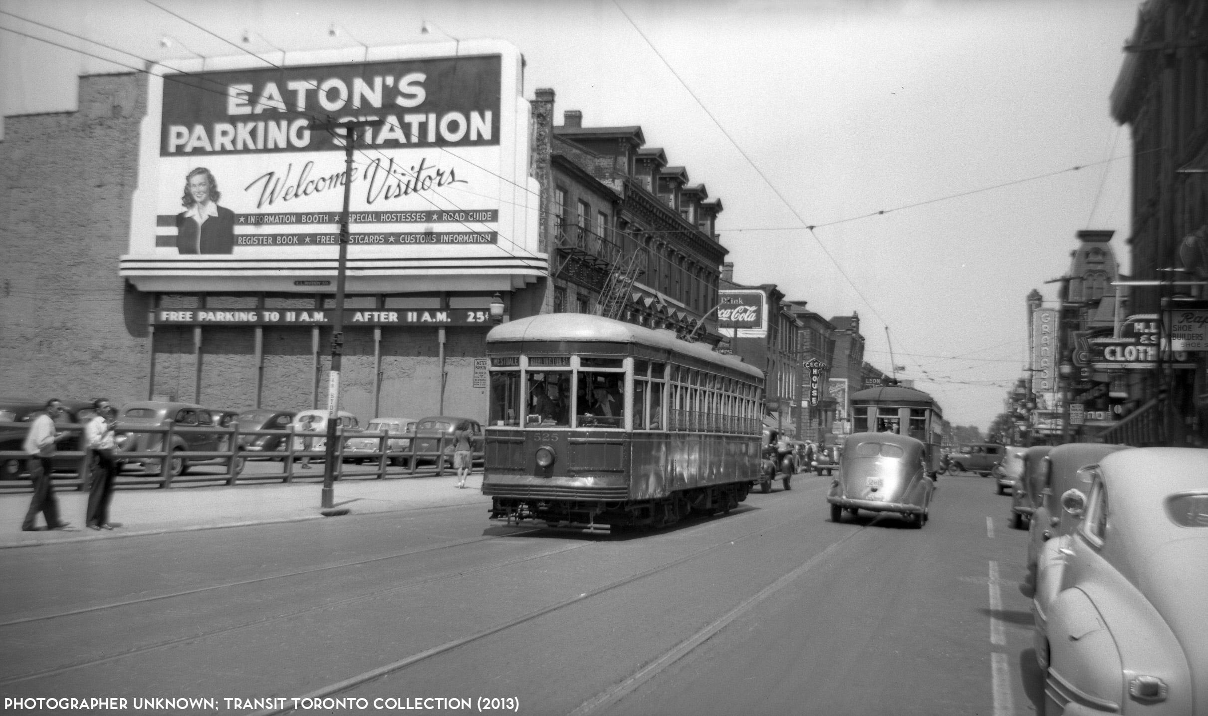 A Short History Of The Hamilton Street Railway S Streetcar