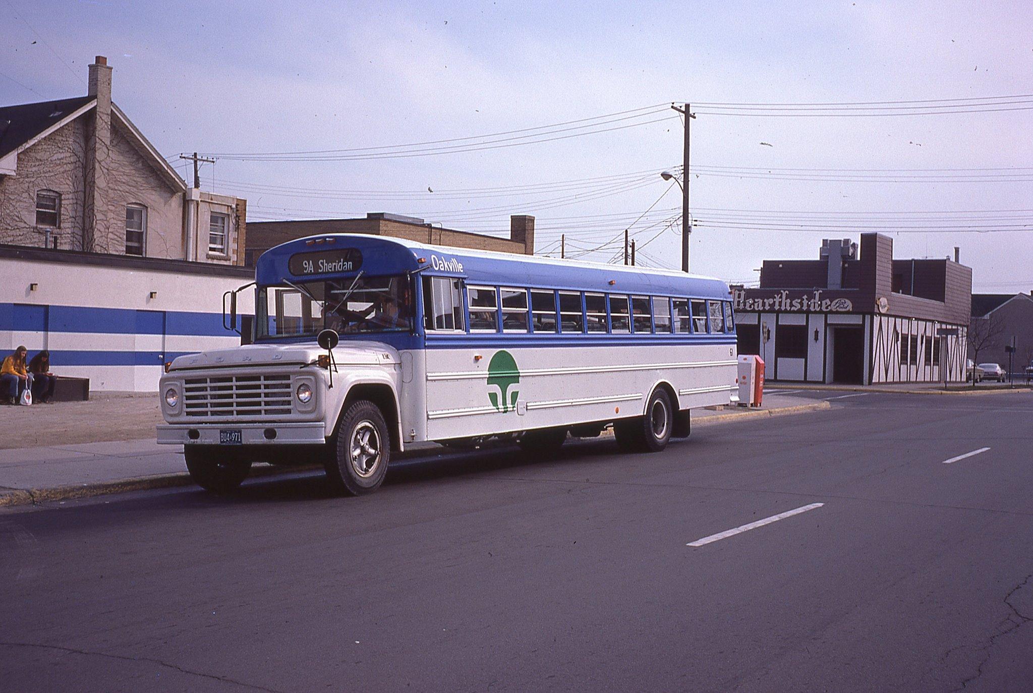 Oakville Transit 1975