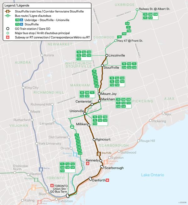 Transit Toronto Image GO Stouffville 00 Map