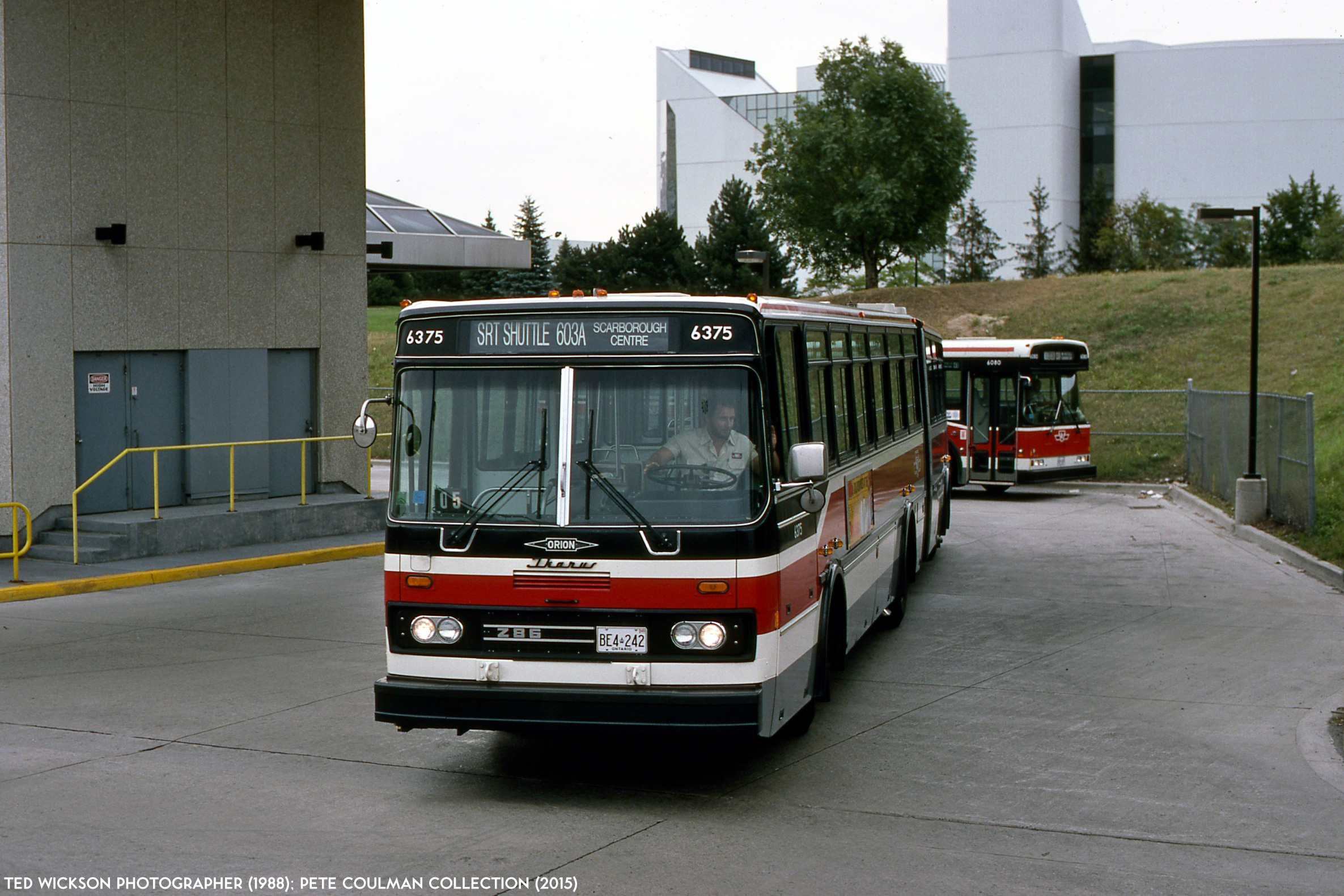The orion iii ikarus articulated bus transit toronto for Ikarus
