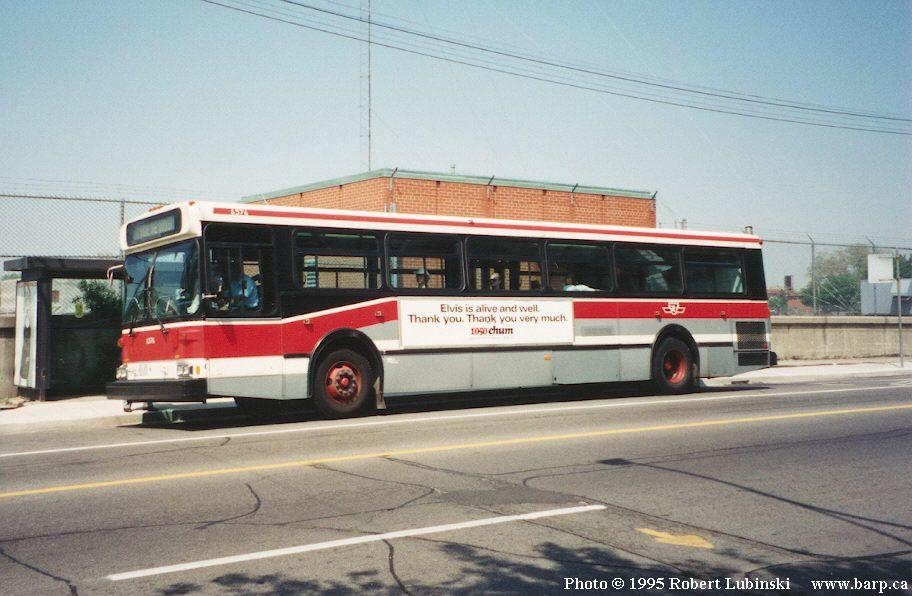 TTC 6567 old livery