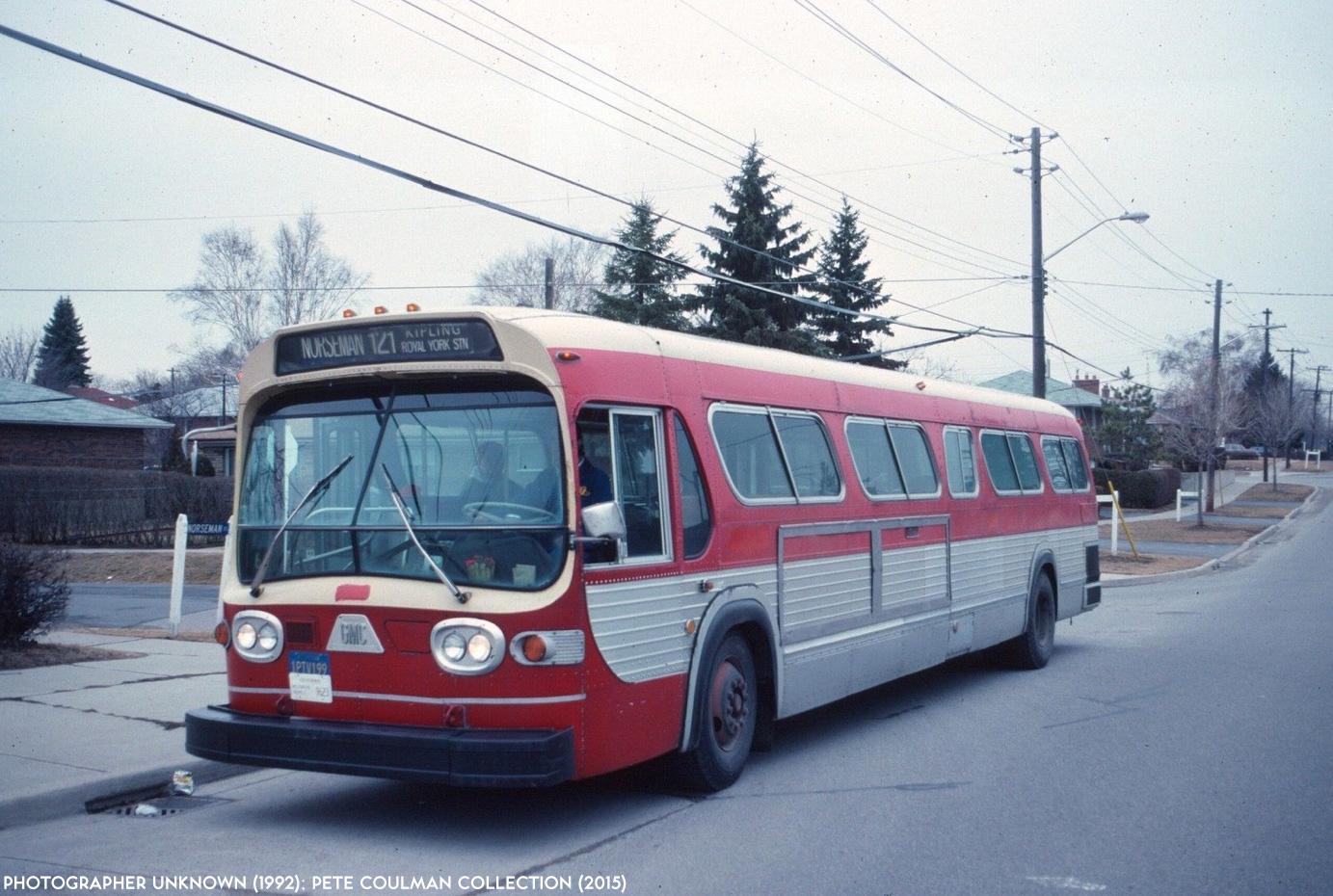 Transit Toronto Image: TTC 7523 19920418