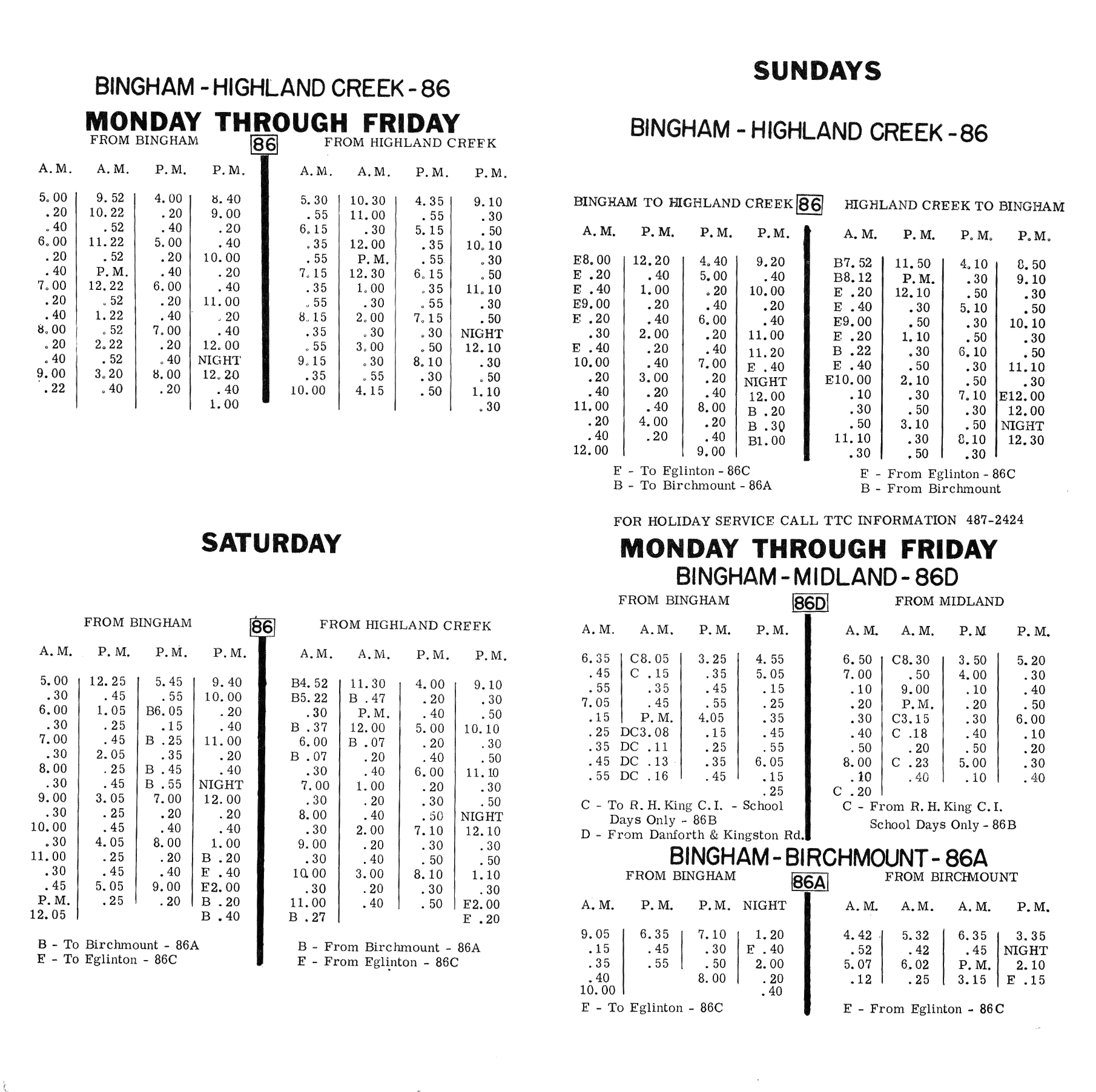 Ttc  01 Timetable P2 Png