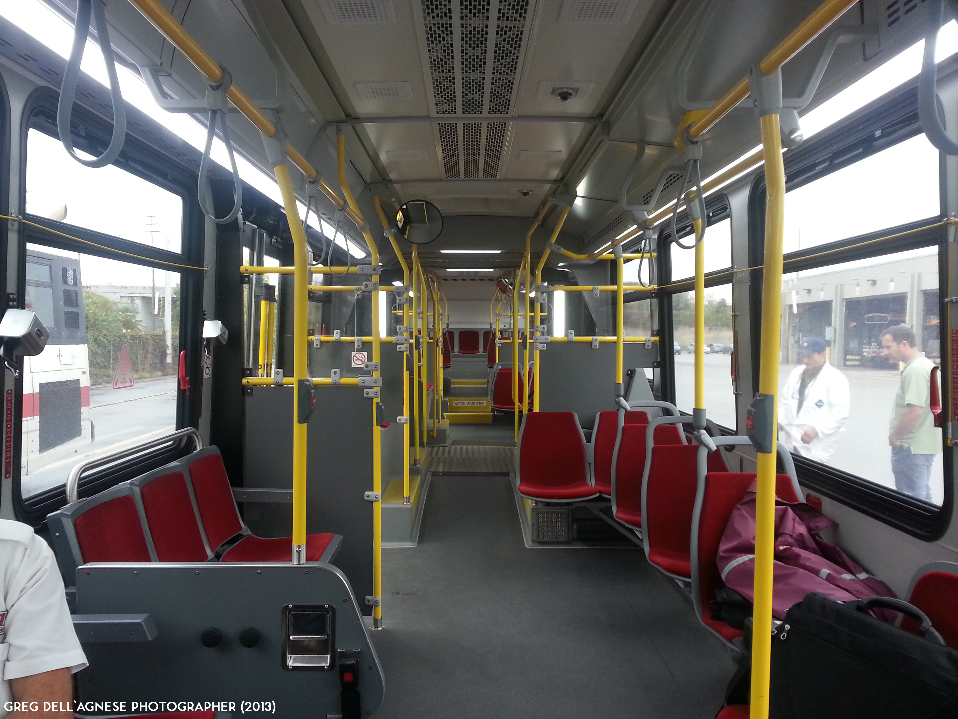 The novabus lfs articulated buses transit toronto content Tour bus interior design