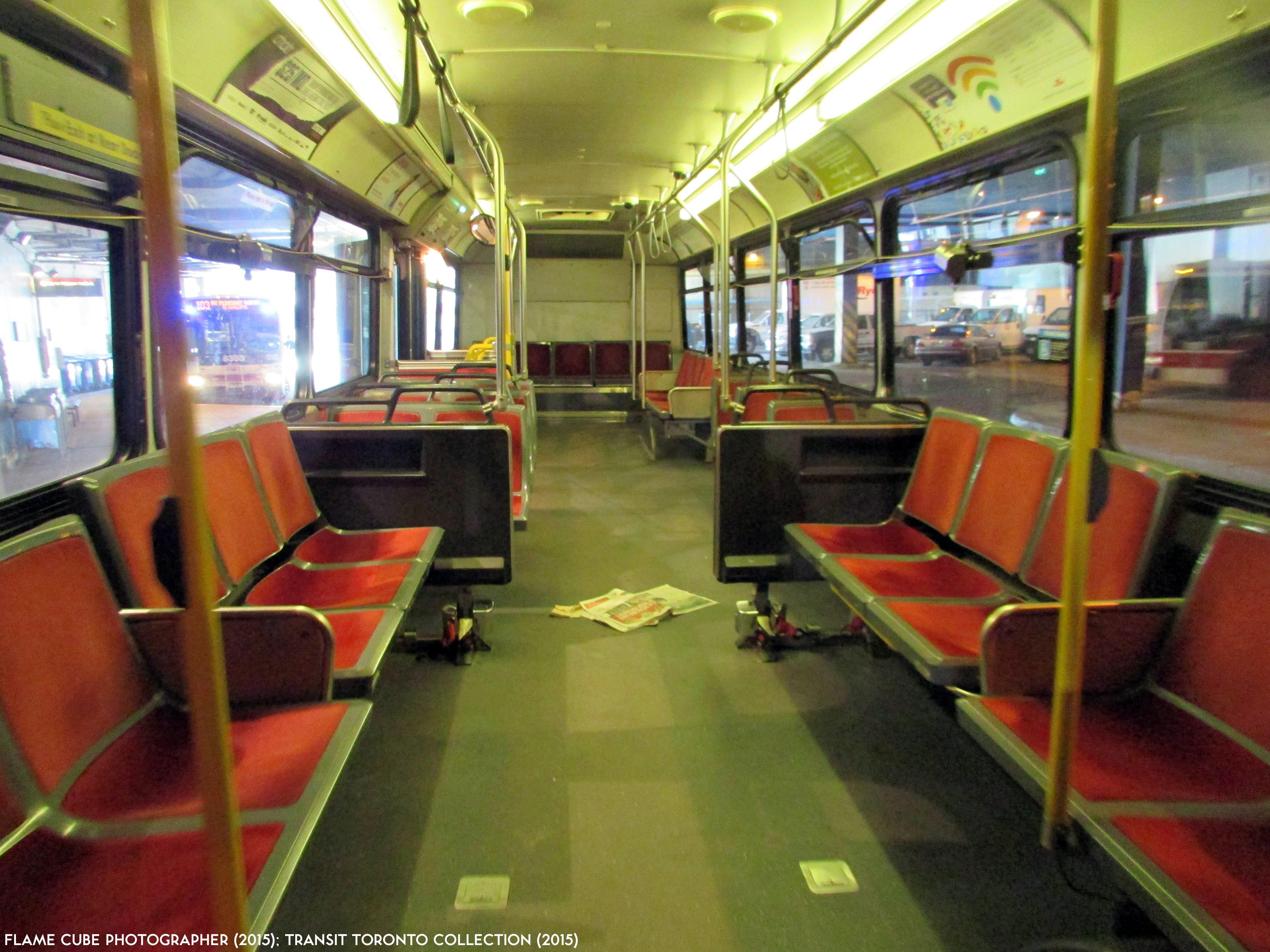 Garage Interior Design Toronto: Transit Toronto Image: TTC 9419 Interior