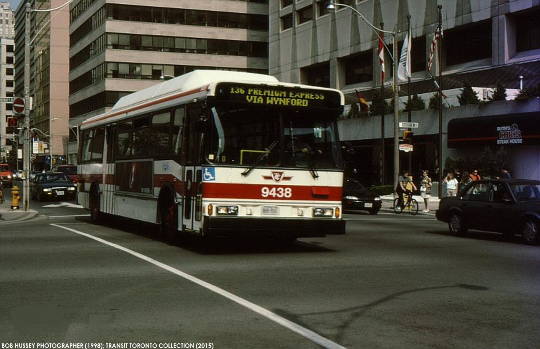 136 Premium Express Via Wynford 1988 1999 Transit