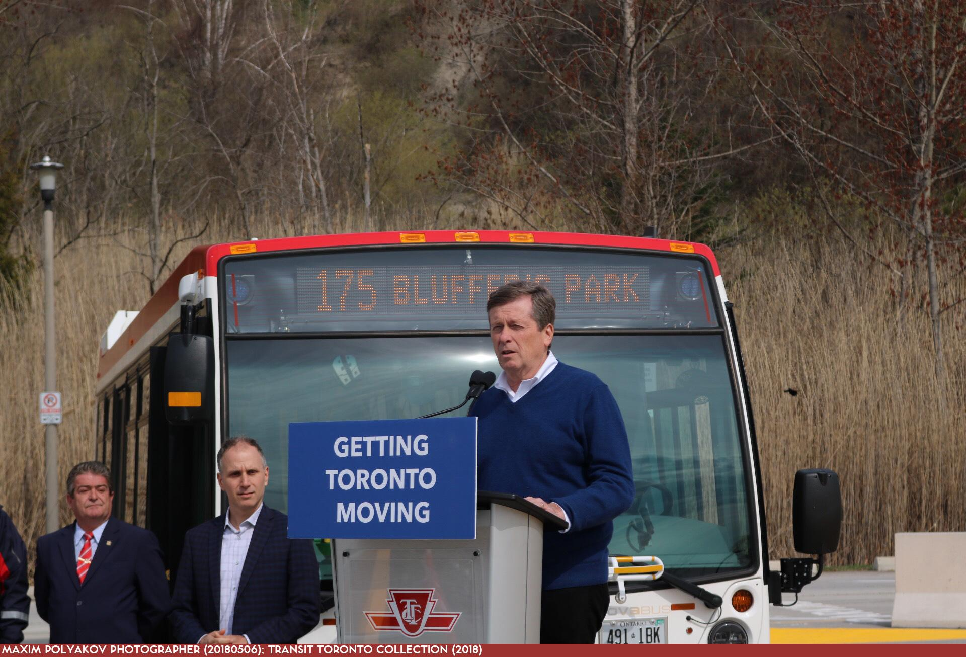 TTC 0000 175 Bluffer's Park 20180506 - Mayor Tory's Speech