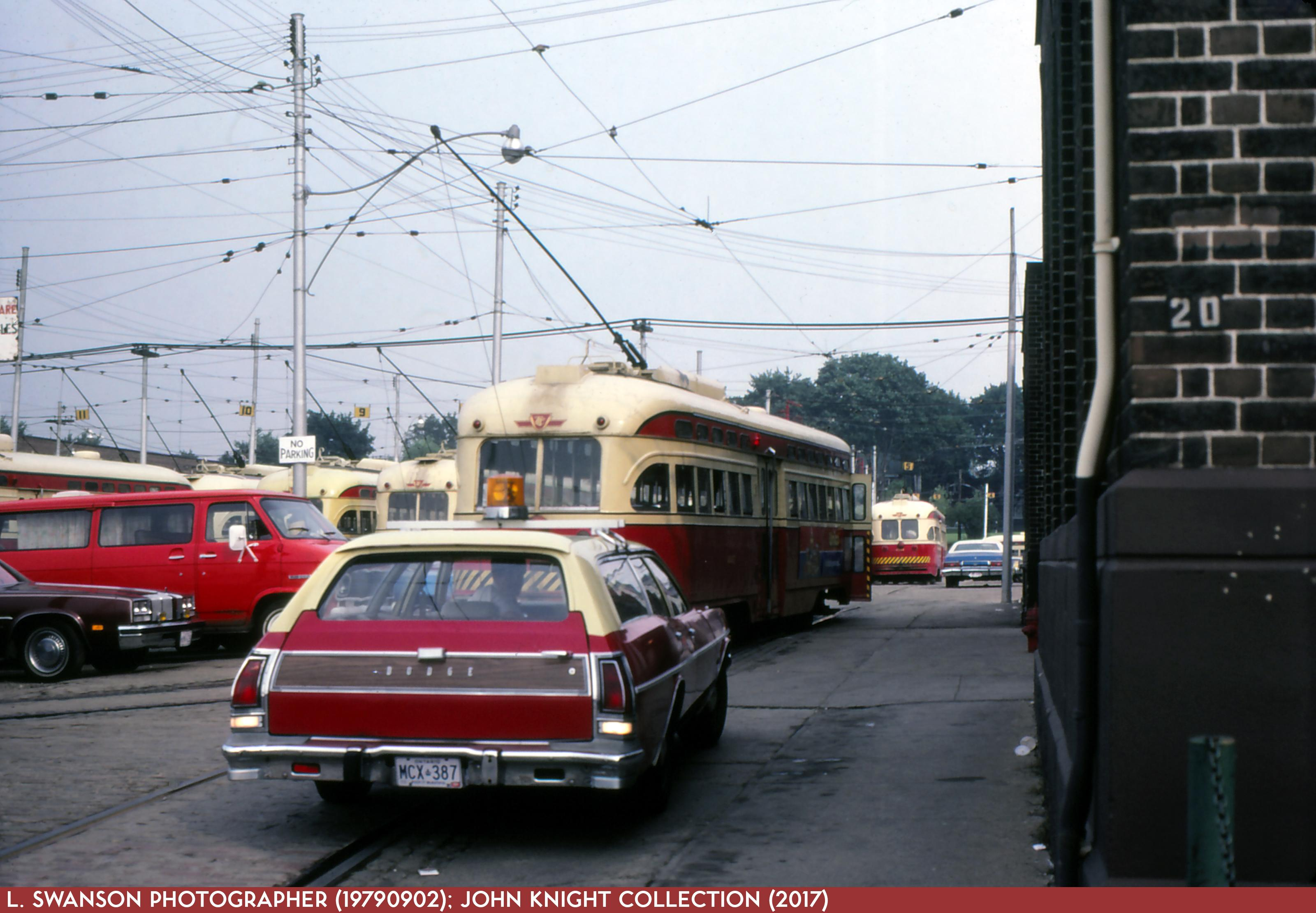 Roncesvalles Carhouse 19790902
