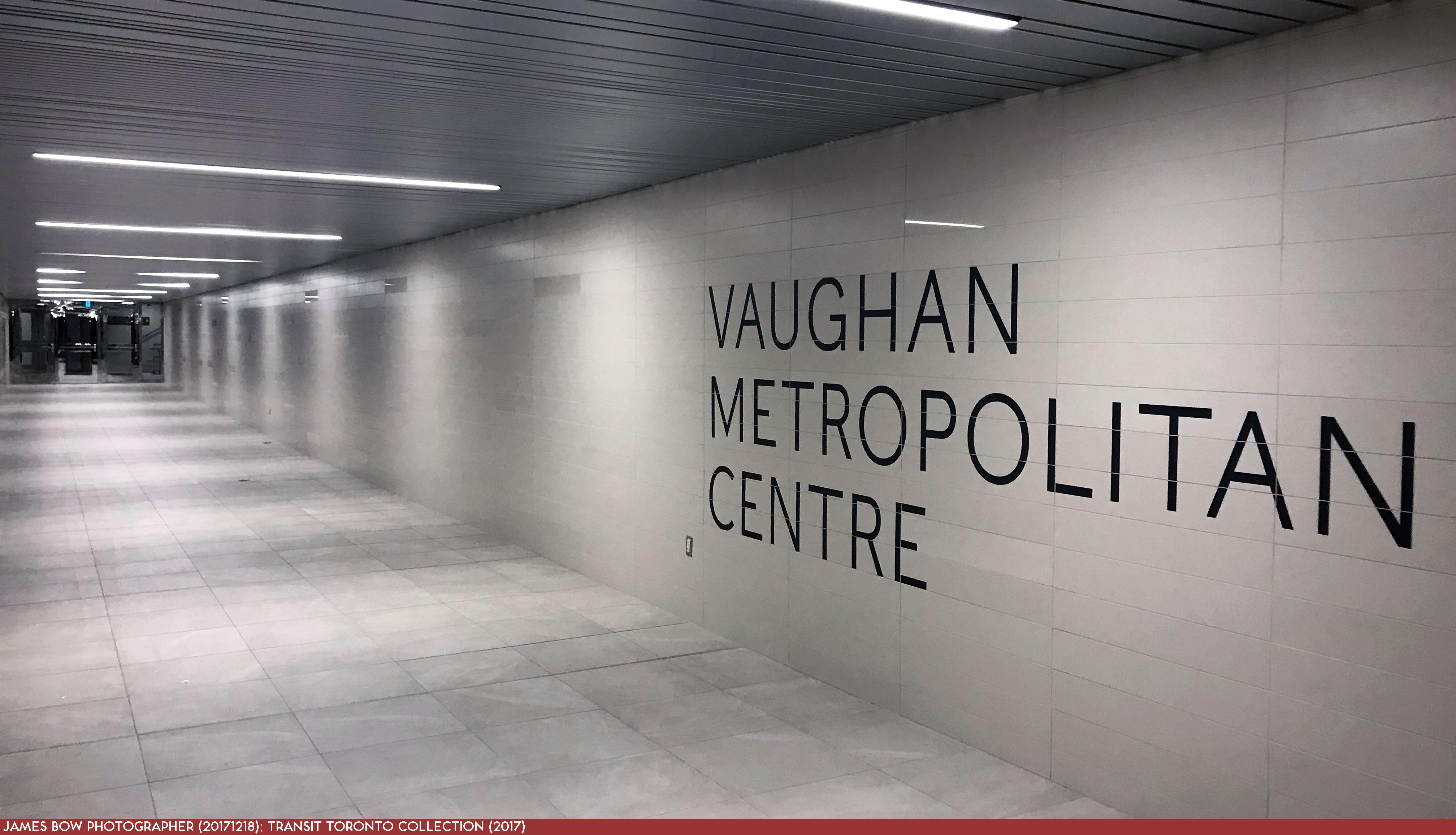 Spadina Extension 06 Vaughan Centre 20171218 North Passage