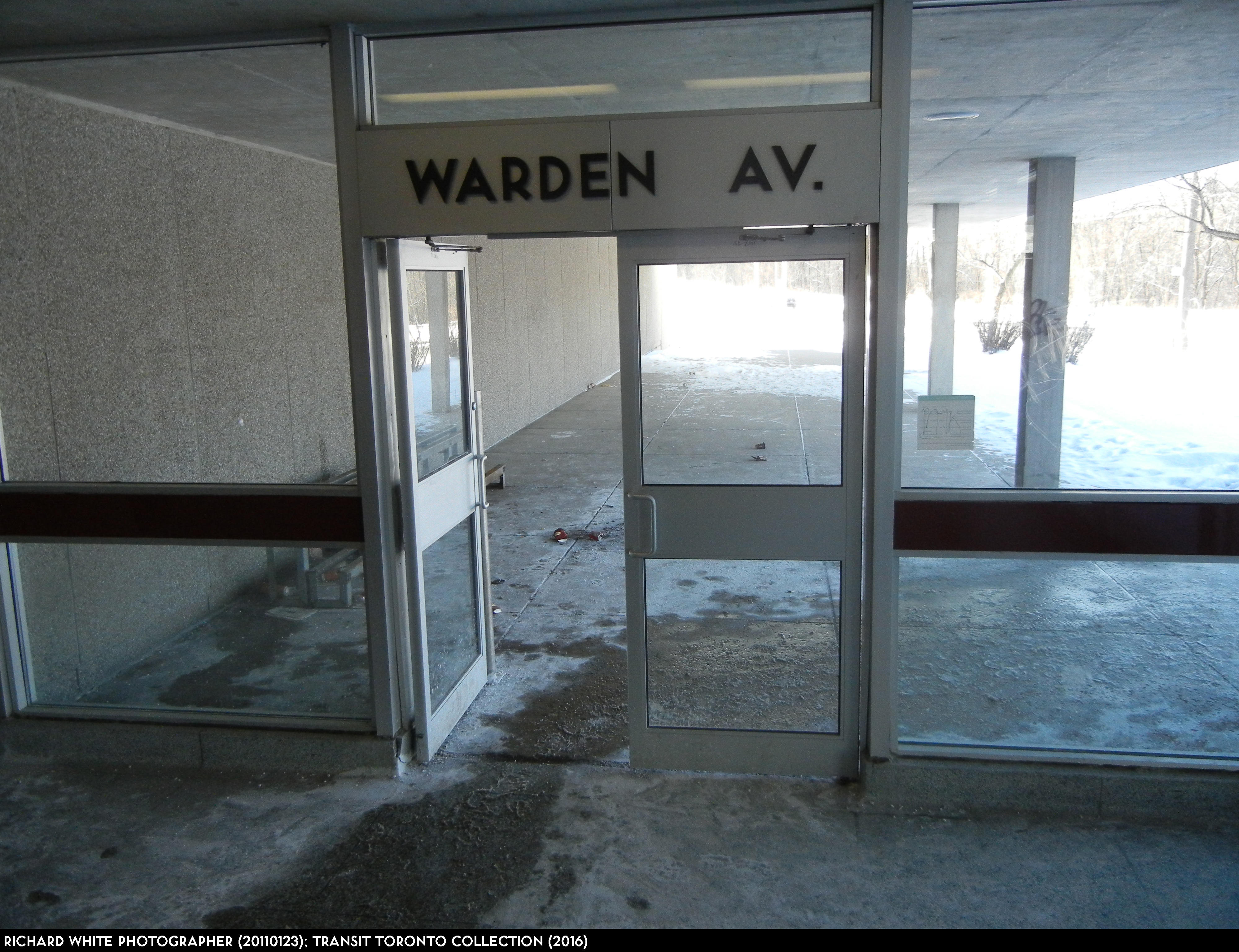how to get to warden station