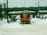 CLRV 4013 during the Storm of 99