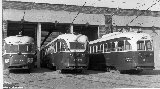 Air-electrc PCC 4001 with comrades in Connaught Carhouse