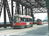 CLRV 4003 northbound on bridge