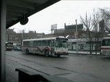 Mississauga bus at Dundas West Station