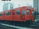 Gloucester car 5089 stored outside at Davisville Yard