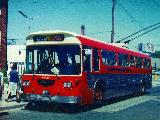Rebuilt coach 9020 on Ossington. Photo donated by Brad O'Brien